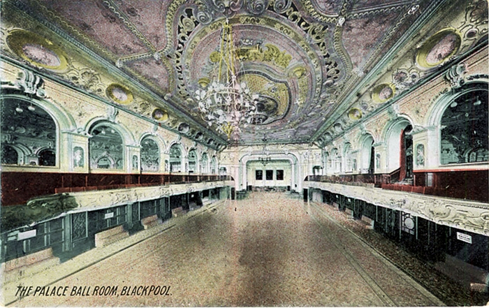 The Ballroom at The Palace Theatre, Blackpool