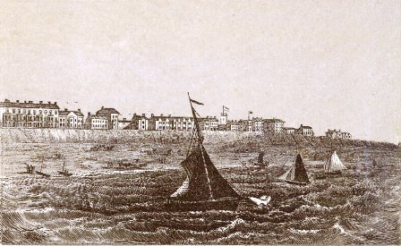 South Shore, Blackpool, in the 1860s.