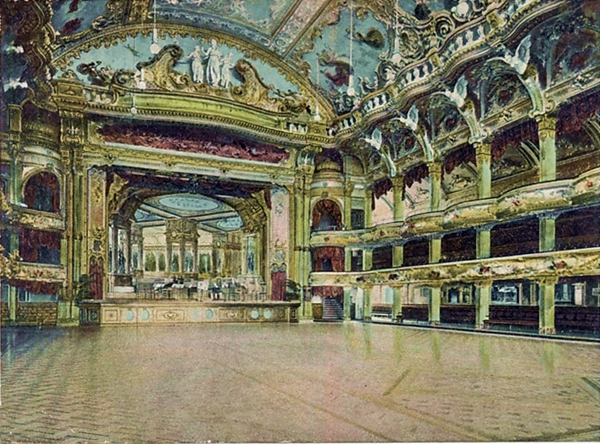 Blackpool Tower Ballroom c1902.