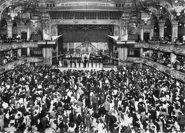 Blackpool Tower Ball Room c1950