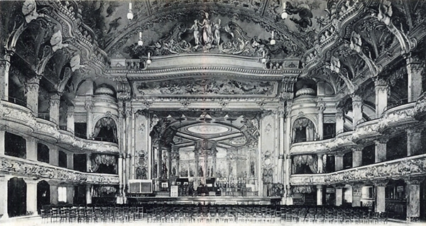 Blackpool Tower Ballroom c1900.