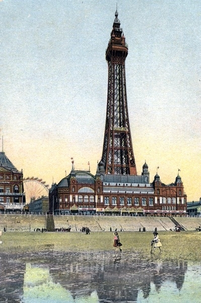 Blackpool Tower c1904.