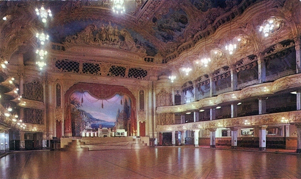 Blackpool Tower Ball Room c1960