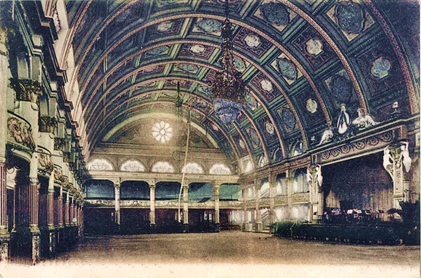 Empress Ballroom, Winter Gardens, Blackpool c1904.