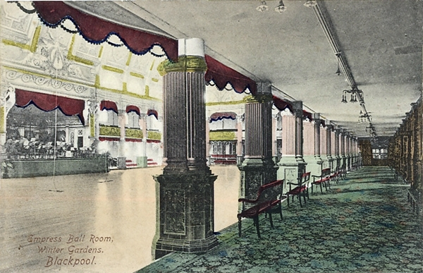 Empress Ballroom, Winter Gardens, Blackpool c1903.