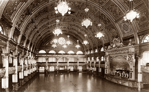 Empress Ballroom, Winter Gardens, Blackpool c1950.