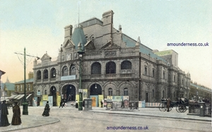 The Hippodrome, Church Street, Blackpool, later renamed The Empire and now the Syndicate Nightclub.
