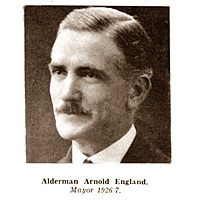 Arnold England, Mayor of Lytham St.Annes 1926-1927.