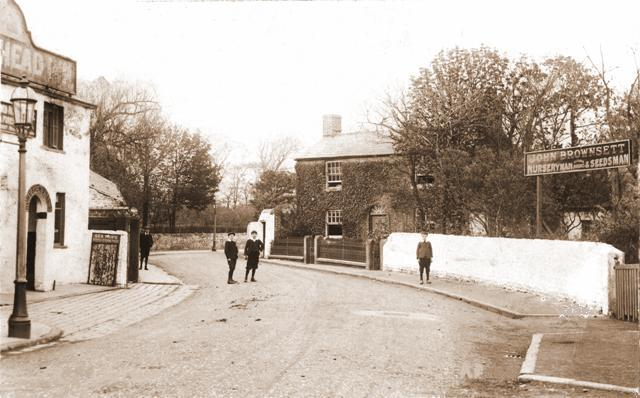 Brownsetts Nursery, Marton, Preston Old Road, Blackpool, c1910.