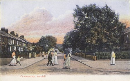 New houses, Commonside, Ansdell, 1900