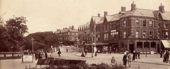 St.Anne's Square, St.Anne's-on-the-Sea c1925.