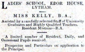 Ebor House School, Lytham.