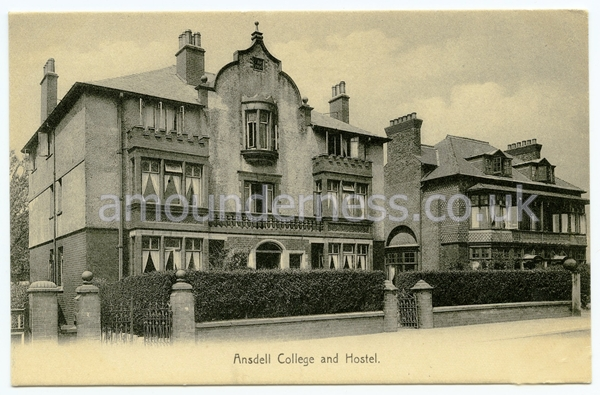 Ansdell College, Cyprus Avenue, Fairhaven c1905.