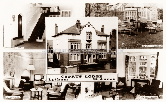 Cyprus Lodge, Cyprus Avenue, Fairhaven was a NALGO Convalescent Home from about the 1960s until the 1990s.
