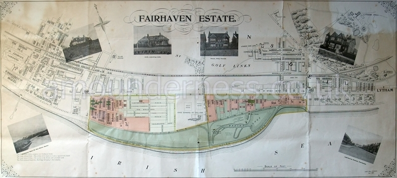 Plan of Fairhaven Estate c1909.