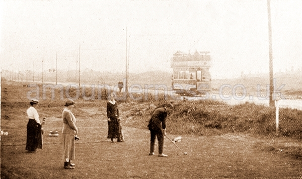 Fairhaven Golf Club along Clifton Drive c1913.