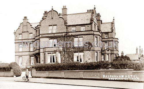 The Fairhaven Hotel viewed from Marine Drive c1918.