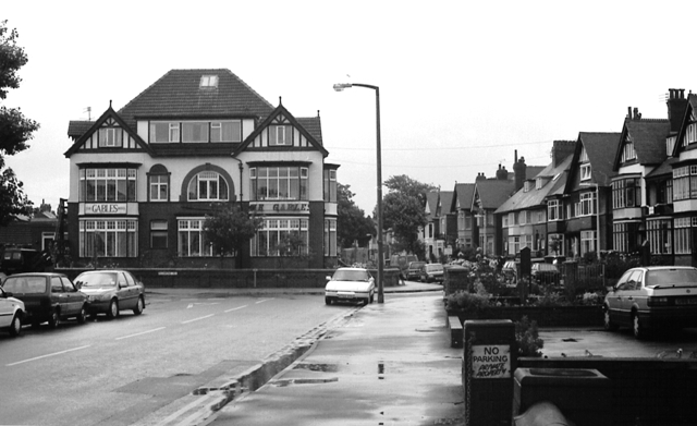The Gables Hotel, Orchard Road, St.Annes-on-the-Sea, in the 1990s.