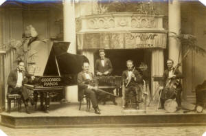 Gerald W. Bright and his Majestic Celebrity Orchestra at the Hotel Majestic, St Annes