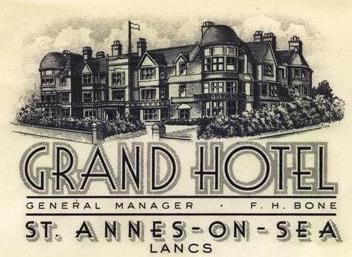 Grand Hotel St.Annes-on-the-Sea c1930