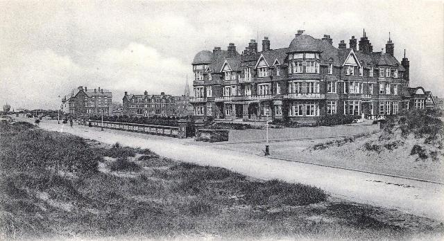 The Grand Hotel, St.Annes, in the early 1900s