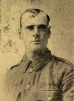 Corpl. Harold Law, 2nd Shropshire Light Infantry, of 7, Glen Eldon Road, St.Annes who was killed in action on May 9th 1915.