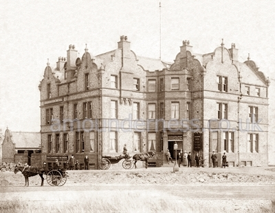 The Fairhaven Hotel, completed in 1897.