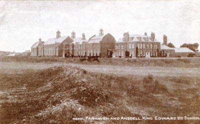 King Edward VII School, opened in 1908.