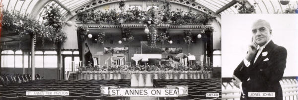 The Floral Hall, St.Annes Pier, celebrated 50 years of orchestral concerts in June 1960.