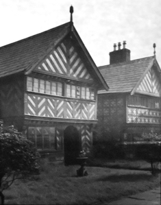 Kenyon Peel Hall, Little Hulton, Lancashire, taken in the 1930s or1950s.