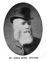 James Asley, Chairman of St.Annes Local Board of Health (1878-1880).