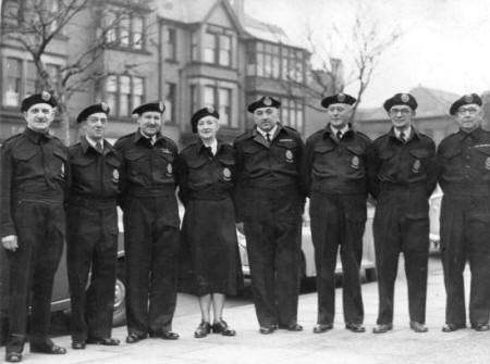 Lytham St.Annes Civil Defence Corps, 1953.
