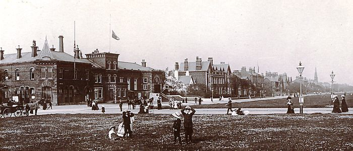 Lytham Baths & Assembly Rooms in the early 1900s..