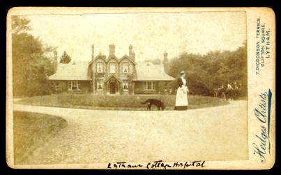Lytham Cottage Hospital in the 1870s