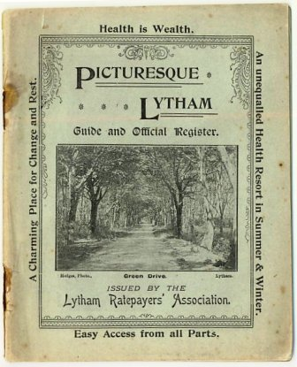 Picturesque Lytham - Official Guide Paperback (c1896)