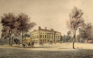 Lytham Hall in the 1840s