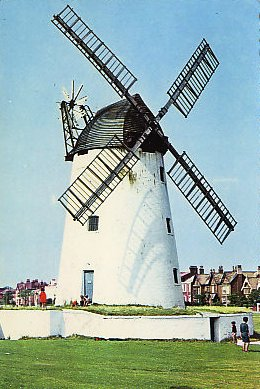 Lytham windmill in the 1970s