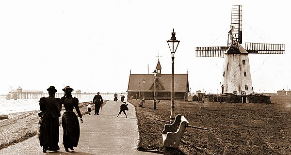 Lytham Windmill in the 1880s