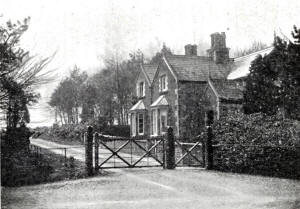Ballam Lodge, Lytham Hall Park, c1890.