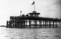 The jetty was used by steamboats which sailed to St.Annes, Blackpool, Southport & Preston.
