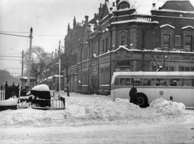 Clifton Street, Lytham, January 1940.