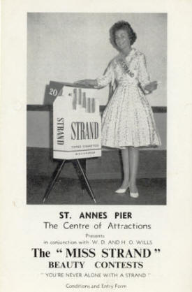 Entertainment on St.Annes Pier in 1961 - Jack Storey in