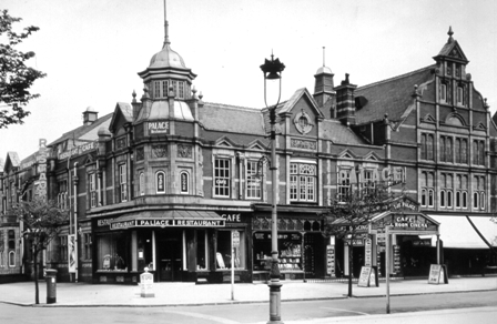 The Palace Cinema, Clifton Street, Lytham, opened in 1930.