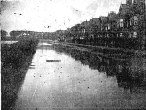 Park View Road, Lytham, flooded in 1907.