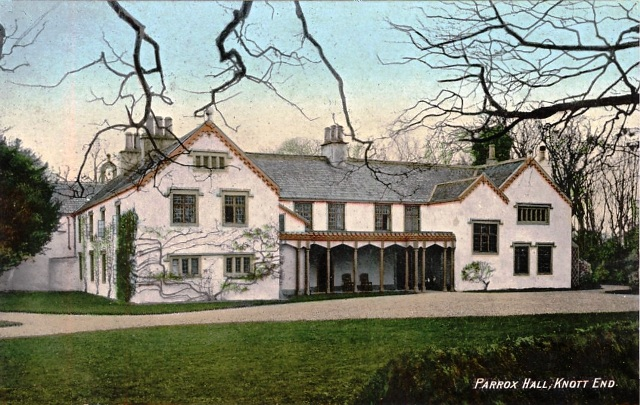 Parrox Hall, Preesall, Over Wyre, Lancashire circa 1904.