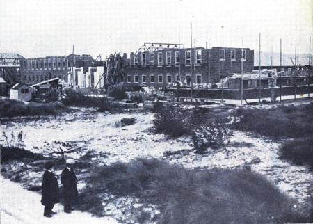 Queen Mary School under construction
