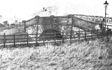 Saltcotes Railway Bridge 1938.