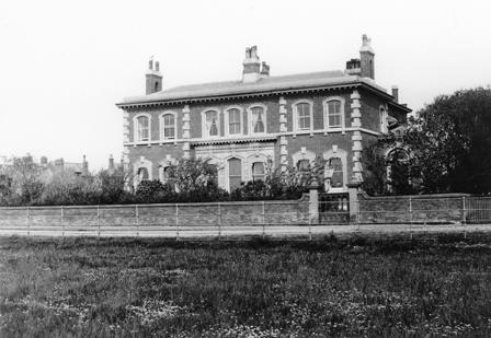 Seafield House School, Lytham, near St.Cuthbert's Church.