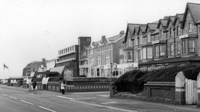 A 1970s postcard of the Grove Hotel, South Promenade, St.Annes-on-the-Sea.