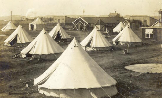 Military Camp at Squires Gate, May 1914